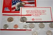UNITED STATES 2003 UNCIRCULATED COIN SET DENVER